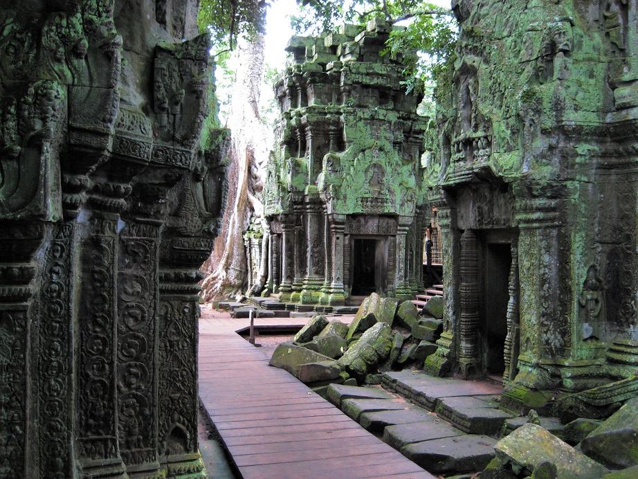 Filming locations in Cambodia - Angkor Temples